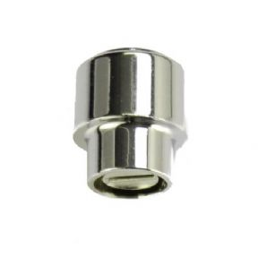 USA Round Lever Switch Tip Chrome